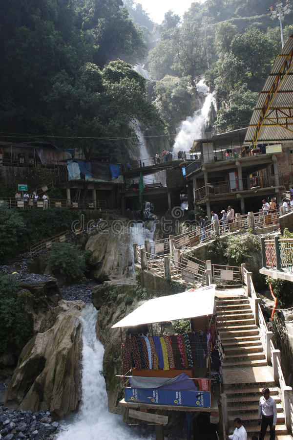 Download Kempty Falls Waterfall Mussoorie In India Editorial Photography - Image: 26824417