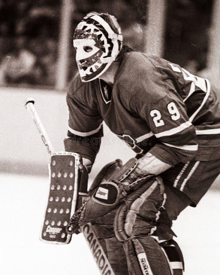 Ken Dryden, o Montreal Canadiens imagens de stock