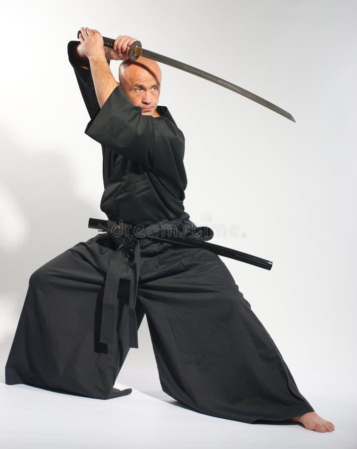 Ken-faz o guerreiro foto de stock royalty free