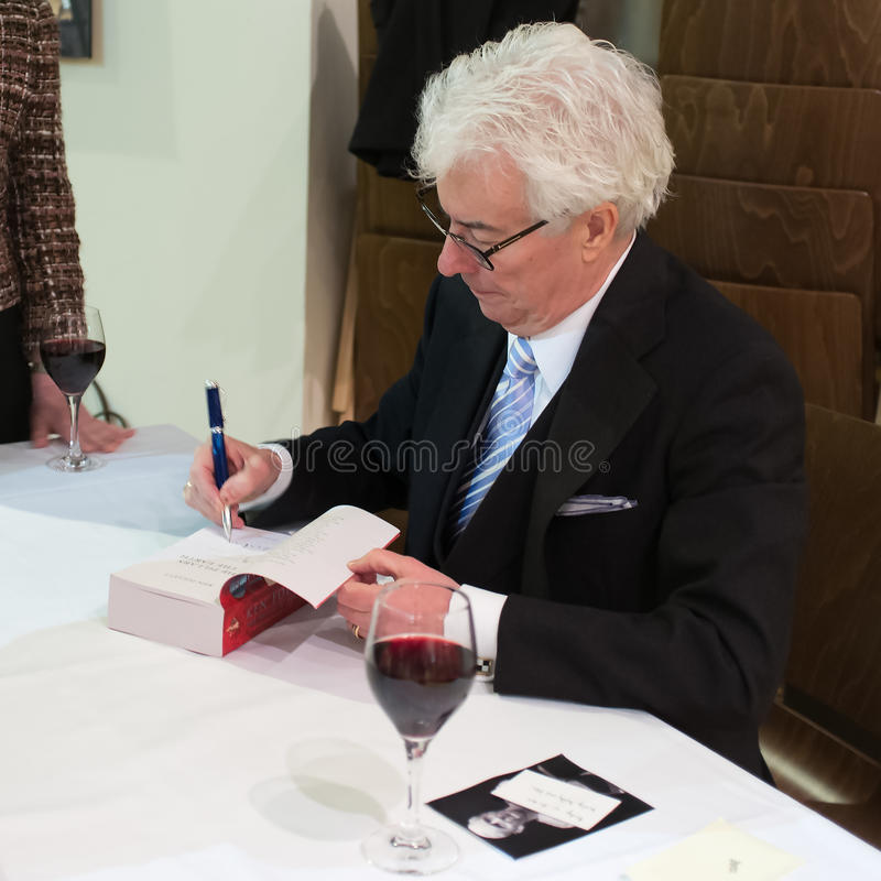 Download Ken Follett editorial photo. Image of earth, signing - 38413376