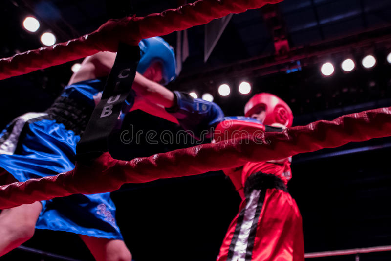 Ken Goff Memorial Boxing Classic imagem de stock royalty free