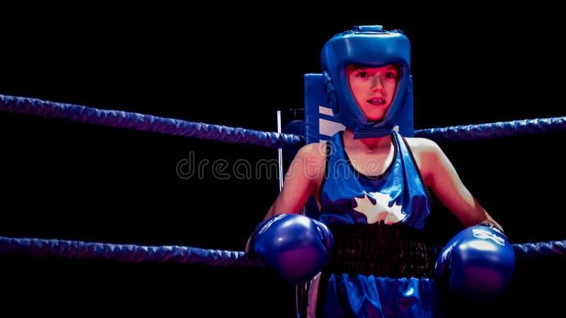 Ken Goff Memorial Boxing Classic foto de stock
