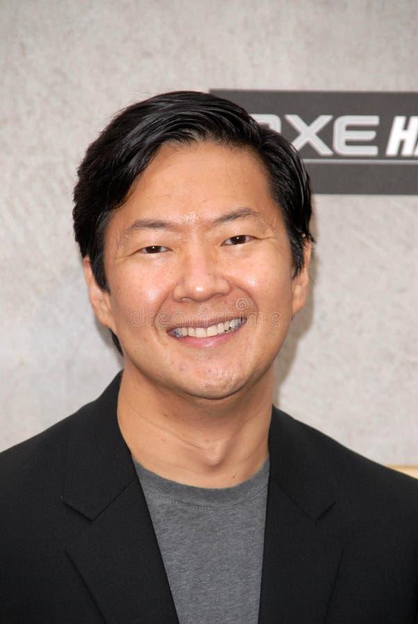 Ken Jeong royalty-vrije stock foto