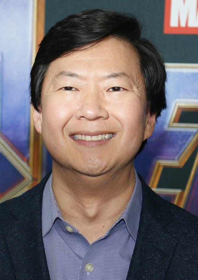 Ken Jeong royalty-vrije stock fotografie