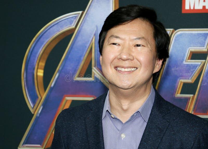 Ken Jeong royalty-vrije stock afbeelding