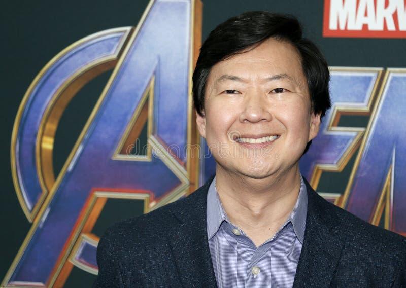 Ken Jeong imagem de stock