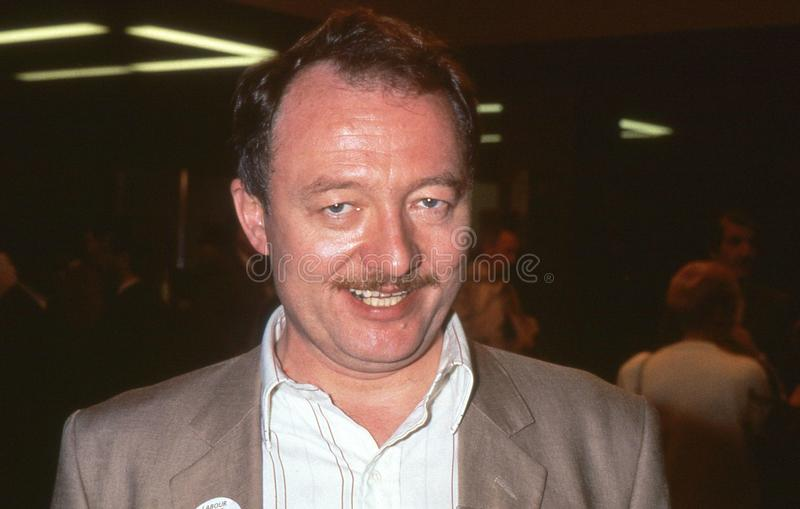 Ken Livingstone. Labour party Member of Parliament for Brent East, attends the party conference in Brighton, England on October 5, 1989. In May 2000 he became stock image