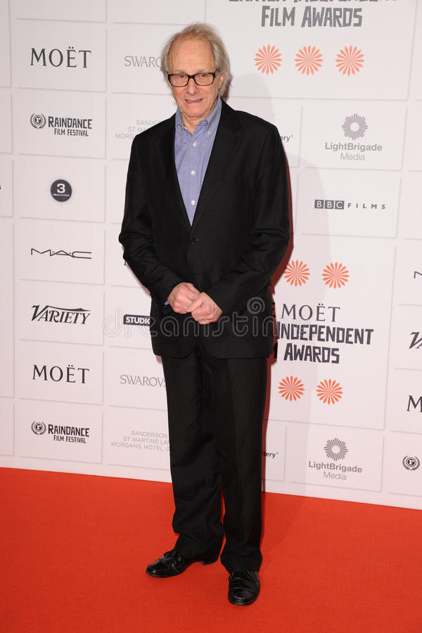 Ken Loach. Arriving for the Moet British Independent Film Awards 2013 at Old Billingsgate, London. 08/12/2013 Picture by: Steve Vas / Featureflash royalty free stock photo