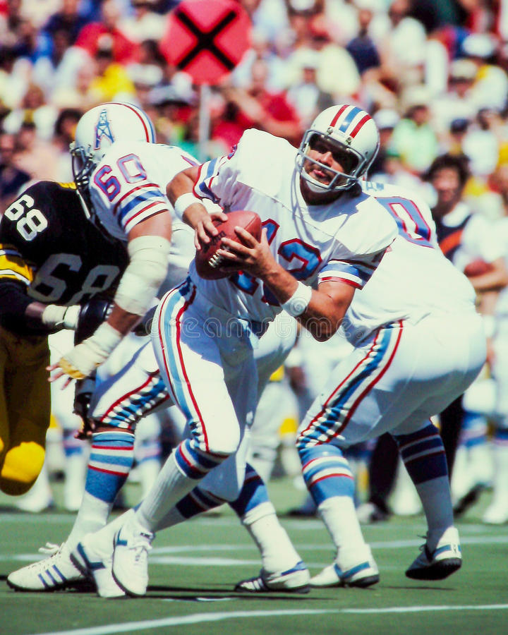 Ken Stabler Houston Oilers photo libre de droits