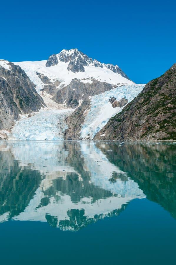 Kenai fjordar arkivbild