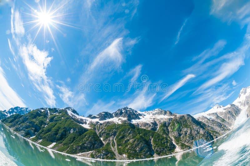 Kenai-Fjorde lizenzfreie stockfotos