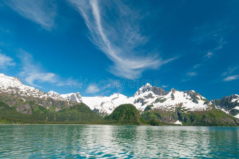 Kenai-Fjorde lizenzfreie stockfotografie