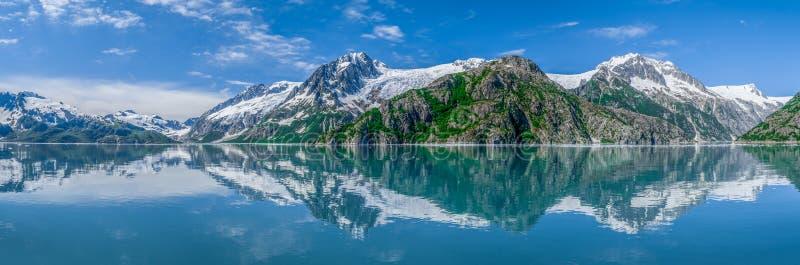Kenai Fjords panorama royalty free stock images