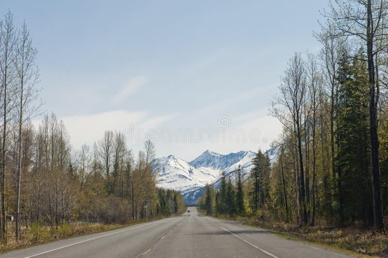 Kenai Peninsua Datenbahn Alaska   stockbilder