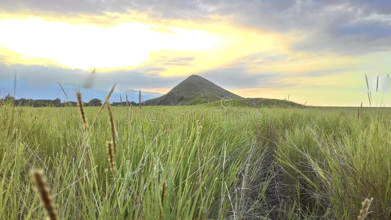 Kenawa Island Lanscape royalty free stock photography
