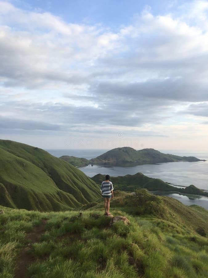 kenawa wyspa, komodo park narodowy zdjęcie stock