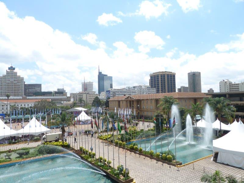 Kenaya KICC Африки стоковые изображения rf