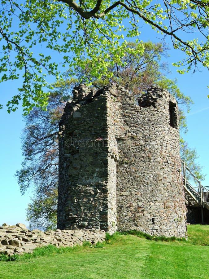 kendal υπολείμματα κάστρων στοκ εικόνα