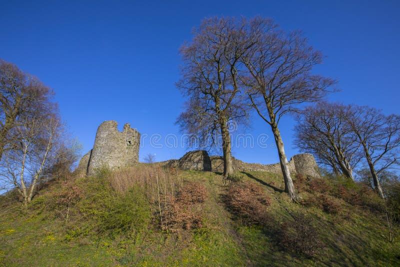 Kendal Castle in Cumbria stockfoto