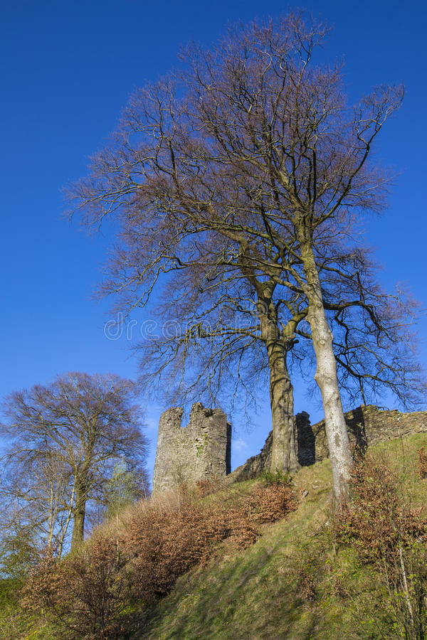 Kendal Castle in Cumbria stockfoto
