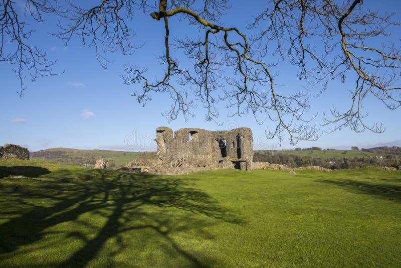 Kendal Castle dans Cumbria image libre de droits