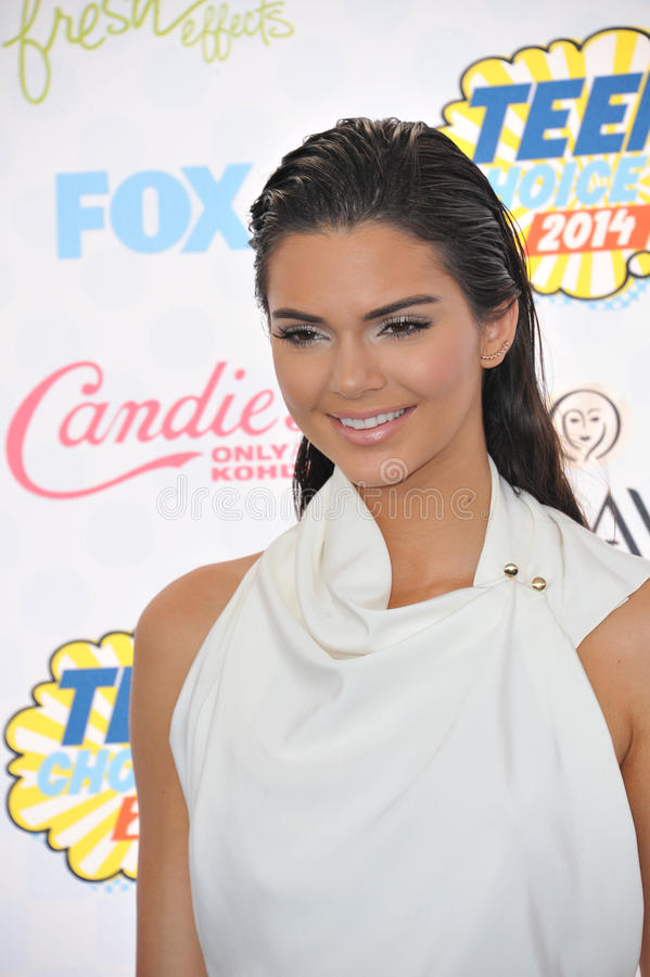 Kendall Jenner fotografia de stock royalty free
