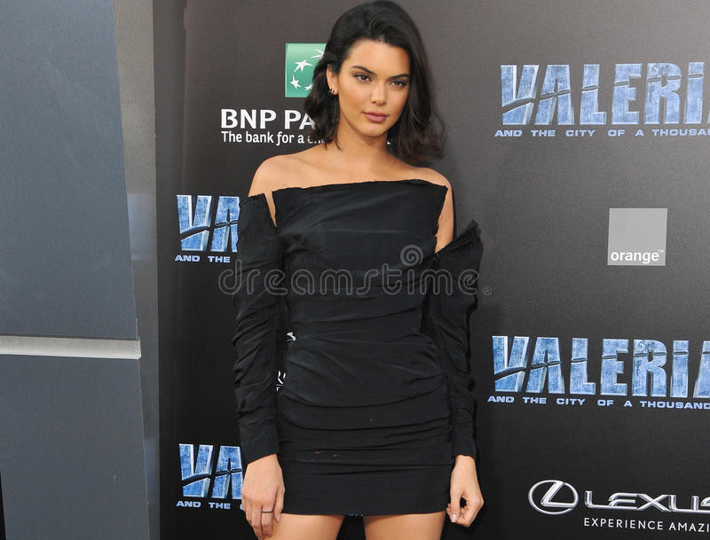 Kendall Jenner lizenzfreie stockfotografie