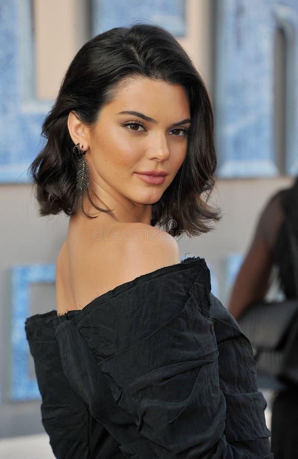 Kendall Jenner image libre de droits