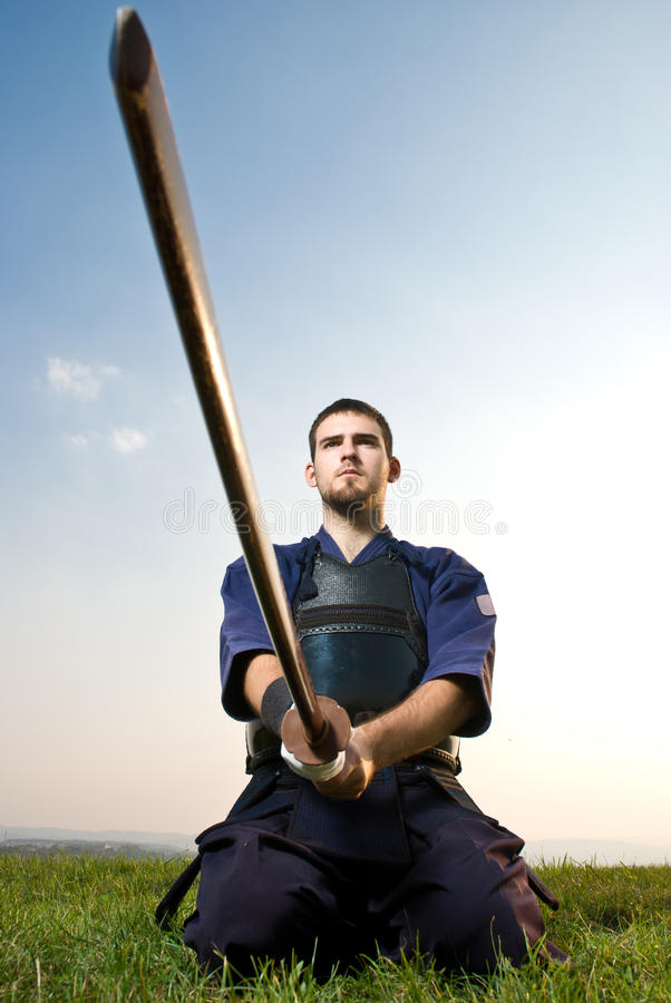 Download Kendo Fighter Royalty Free Stock Image - Image: 22162636
