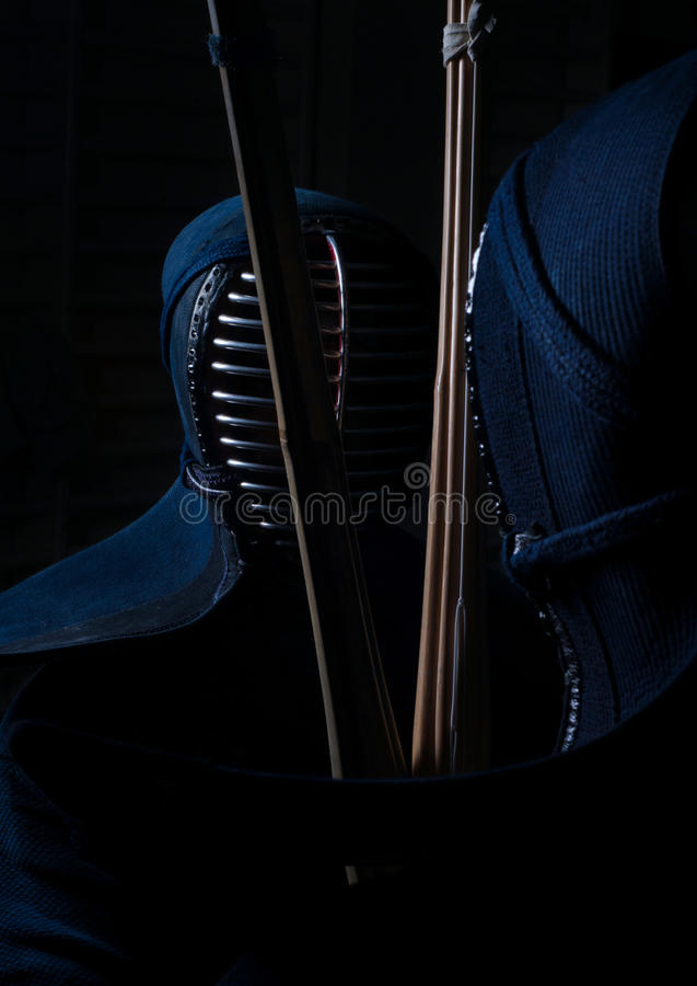 Kendo-Fighting stockbilder