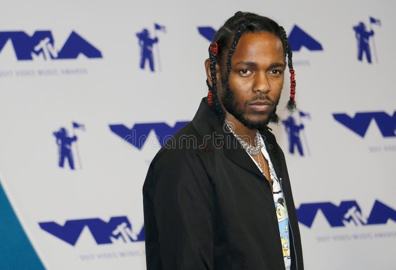 Kendrick Lamar royalty-vrije stock afbeelding