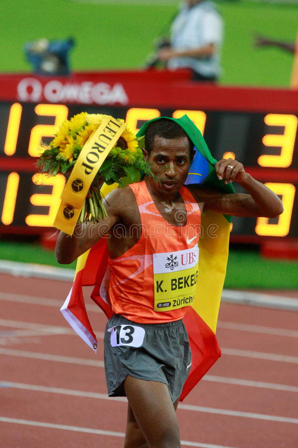 Download Kenenisa Bekele editorial image. Image of action, aout - 10714435