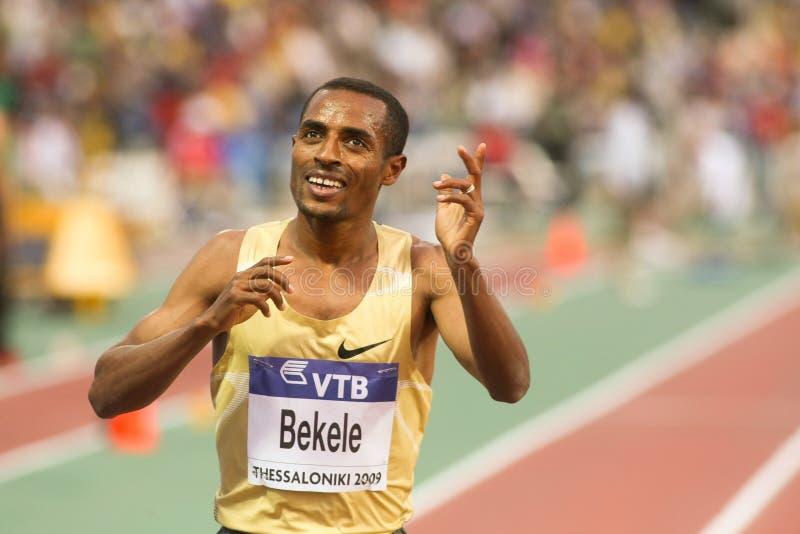 Kenenisa Bekele fotografia stock libera da diritti