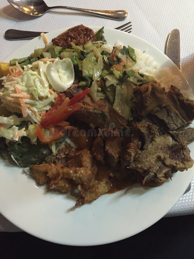 Keniaans voedsel royalty-vrije stock afbeelding