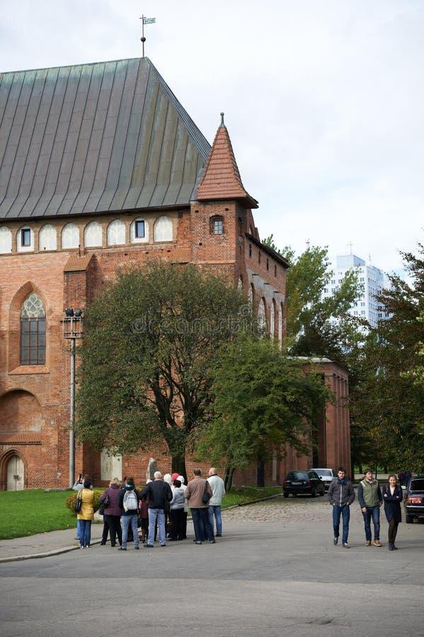 Download Kenigsberg Domkyrka. Kaliningrad. Ryssland Redaktionell Arkivbild - Bild av kant, kyrka: 37344372