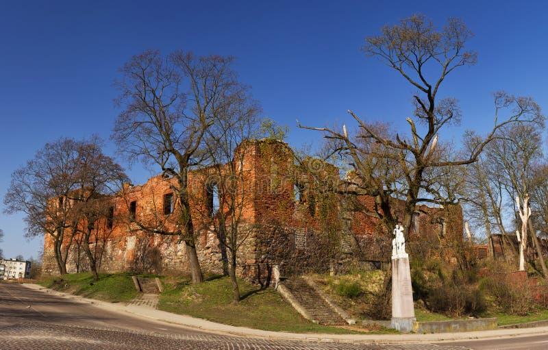 Kenigsberg Insterbug fäste arkivbilder