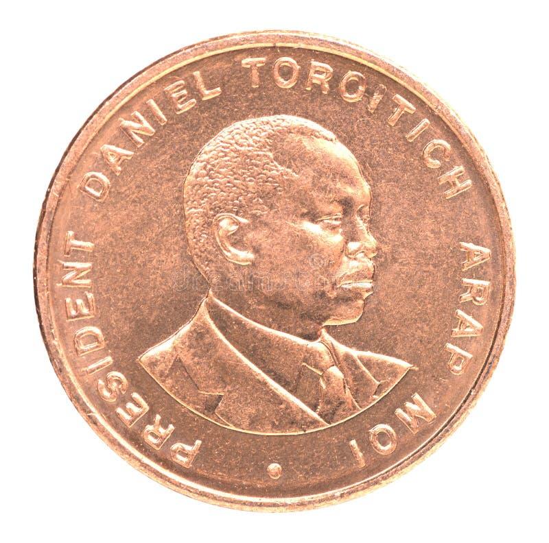 Kenijskiego szylinga moneta obrazy stock