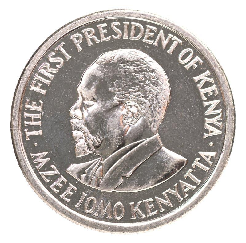 Kenijskiego szylinga moneta zdjęcie royalty free