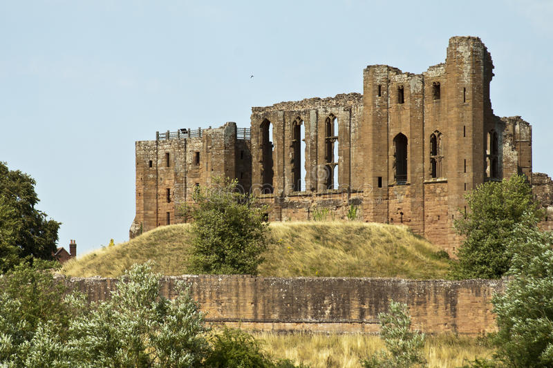 Kenilworth castle. In United Kingdom royalty free stock images