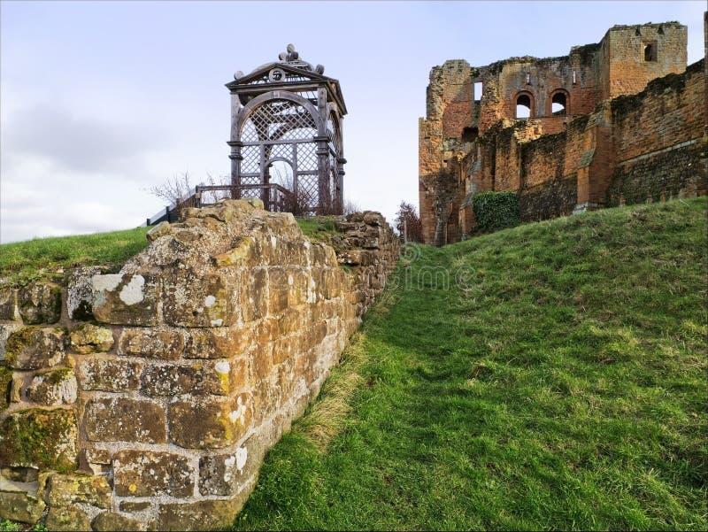 Kenilworth slott royaltyfria foton