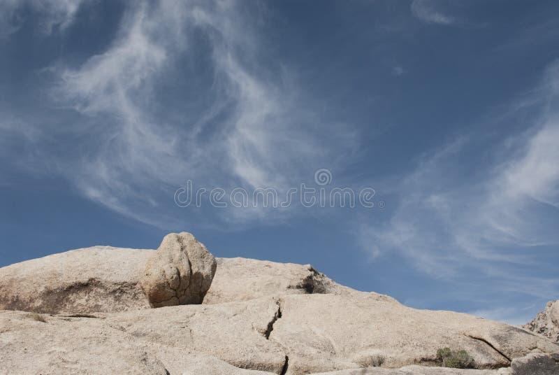 ?kenlandskapsten och himmel arkivfoto