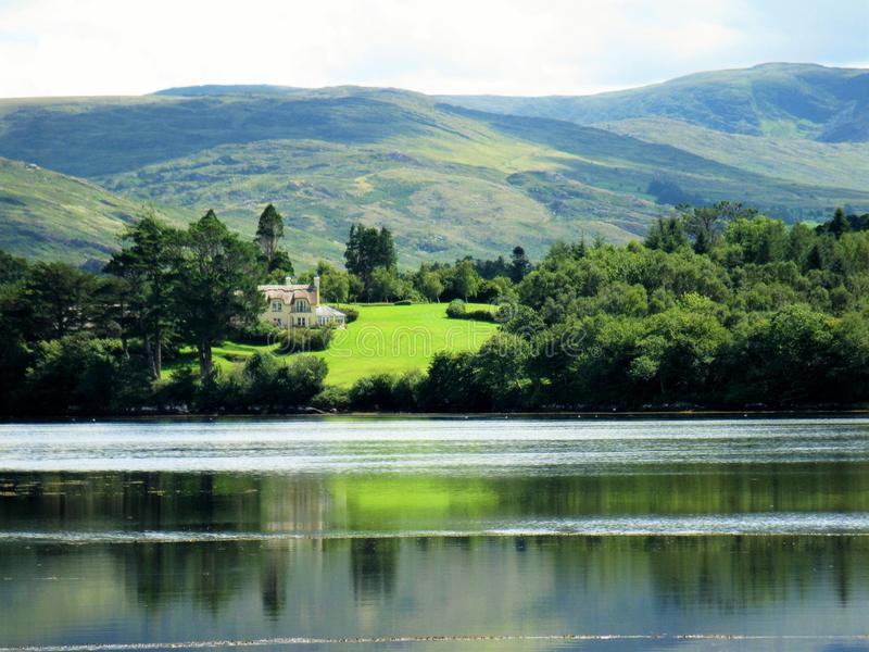 Kenmare Bay stock image