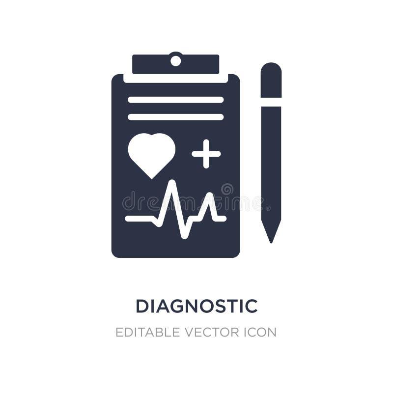 Kenmerkend pictogram op witte achtergrond Eenvoudige elementenillustratie van Medisch concept stock illustratie