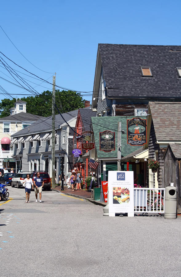 Kennebunkport, Maine, de V.S. royalty-vrije stock fotografie