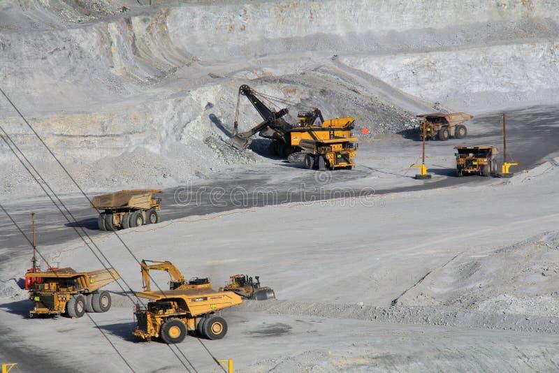 kennecott miedziana kopalnia s Utah obraz royalty free