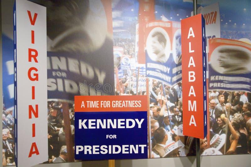Kennedy för president royaltyfri bild