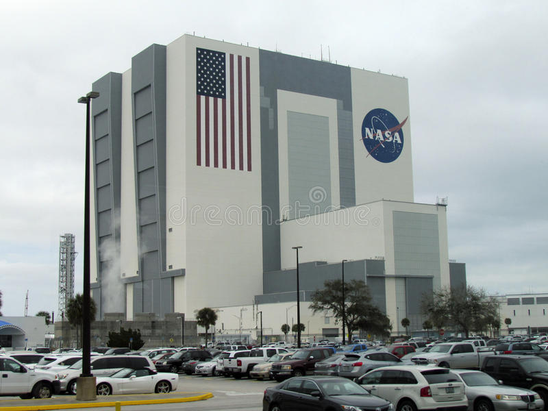 Kennedy Space Center imagem de stock
