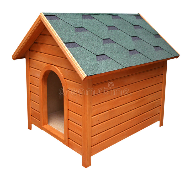 Download Kennel stock image. Image of wooden, nice, house, isolated - 7617273