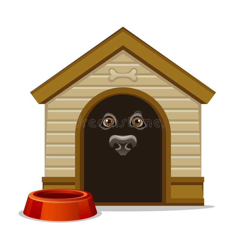Download Kennel stock vector. Image of design, house, inside, cartoon - 32053238