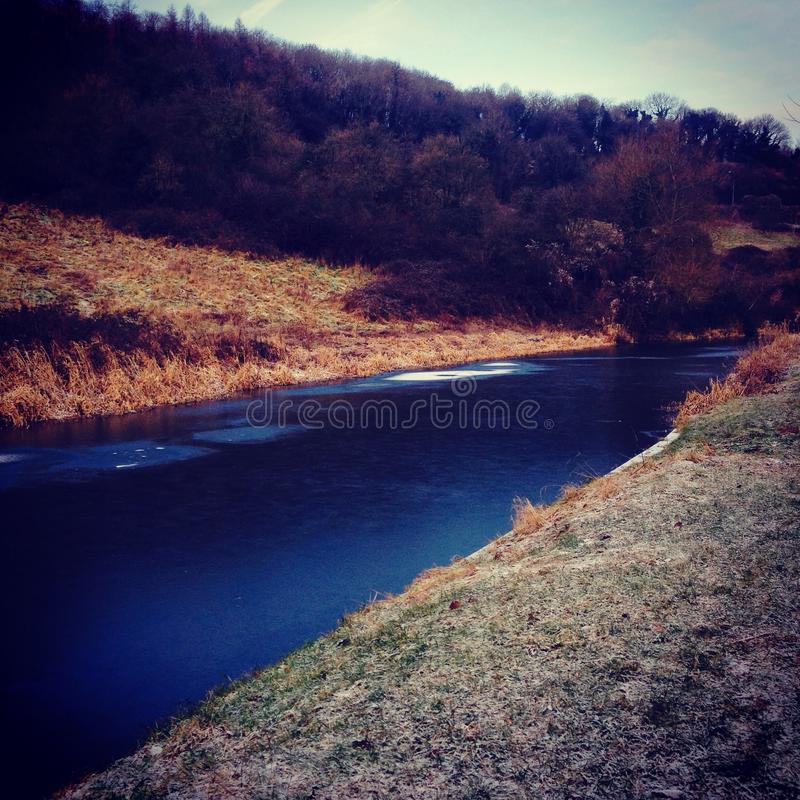 Kennet & Avon royalty free stock images